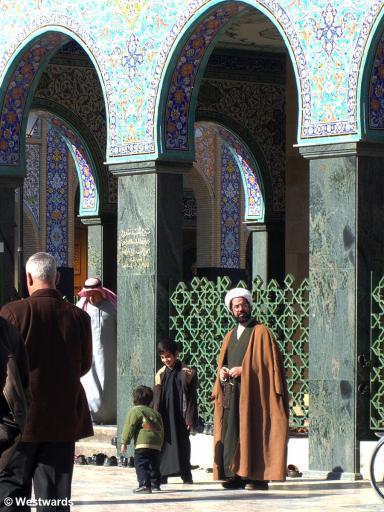 20070124 Damaskus Sayyida Zainab Mausoleum Leute2