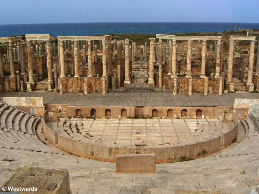20070405 Leptis Magna Theatre2