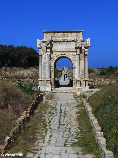 20070406 Leptis Magna Septimius Severin Bogen1