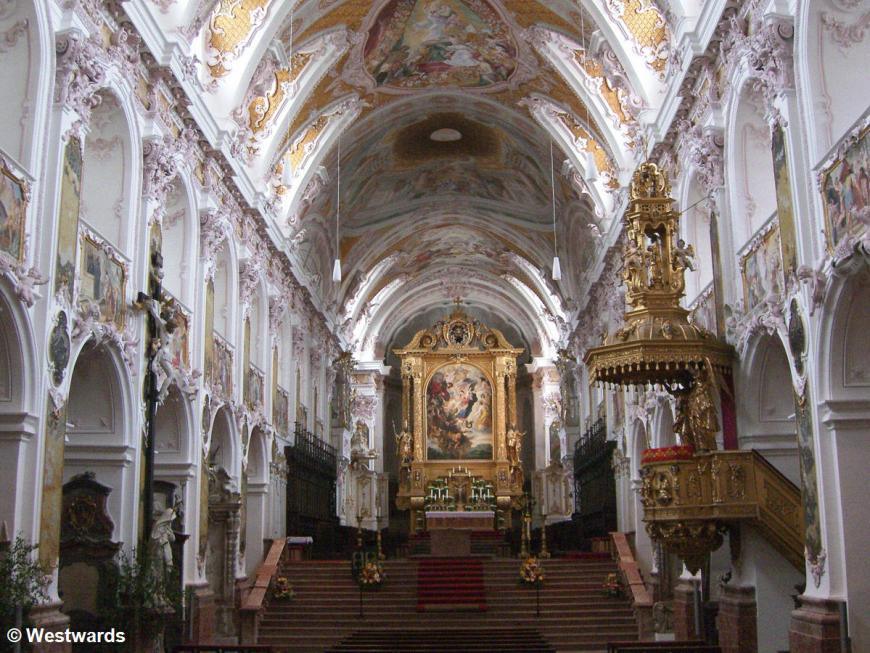20070611 Isarradweg Freising Dom innen