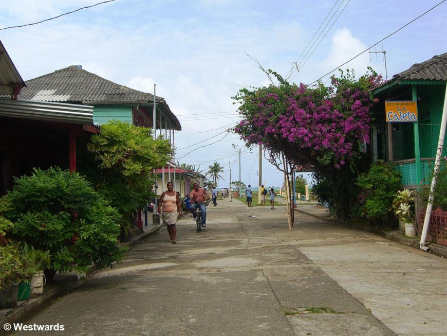 Street in Puerto Obaldia