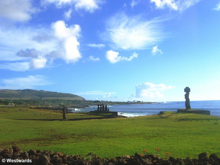 Ahu Vai Uri on Easter Island / Rapa Nui