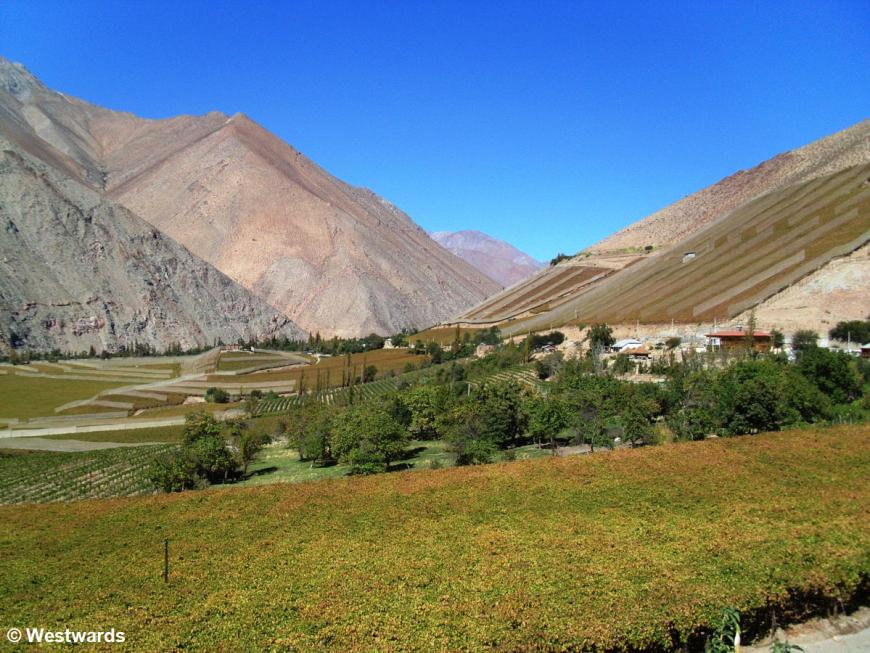 view of Elqui Valley