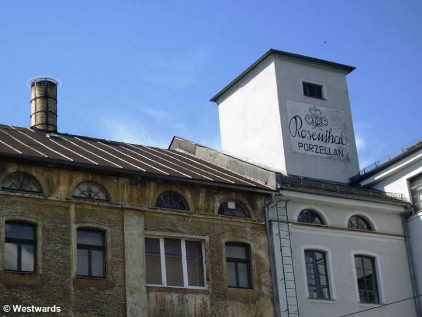 Rosenthal porcellain factory Porzellanikon in Selb