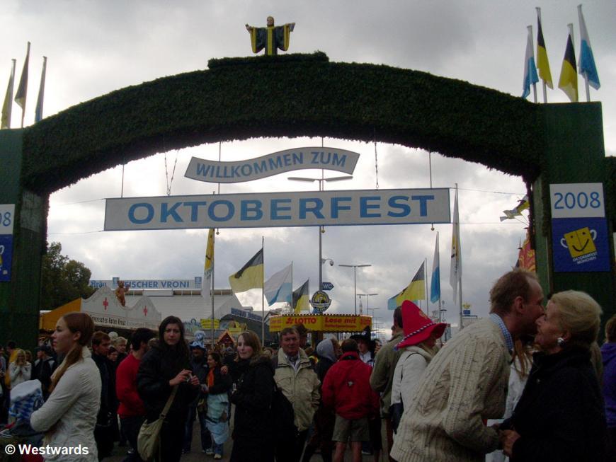 Munich Oktoberfest entrance