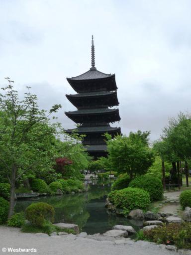 Touji Pagoda in Kyoto