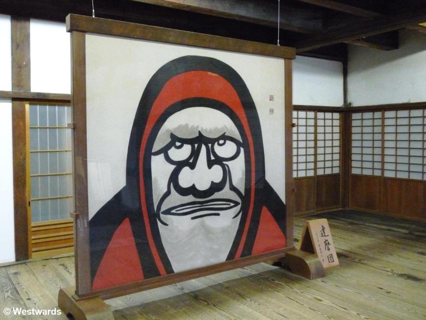 image of Daruma in Tenryuuji temple