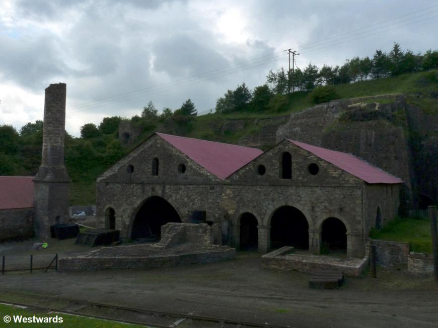 Blaenavon Ironworks ruins