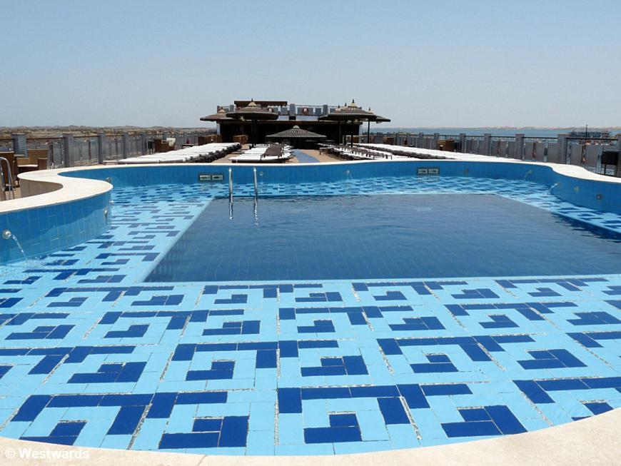 Pool of African Dreams Lake Nasser cruiseship