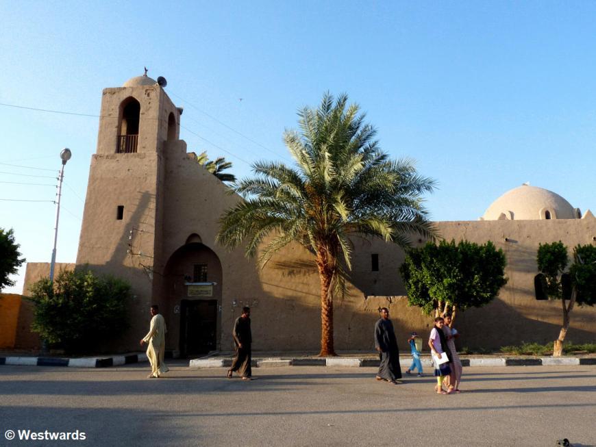 Hasan Fatih adobe mosque in Luxor New Gurna