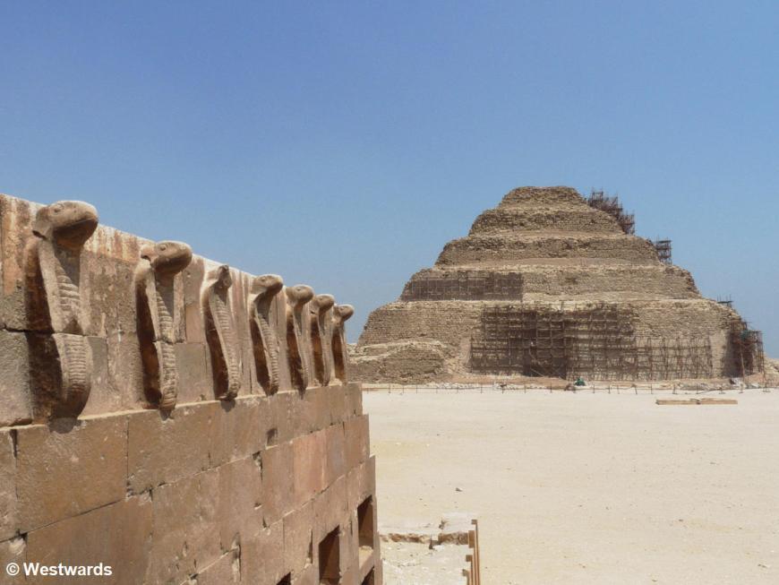 Saqqara Djoser Pyramid