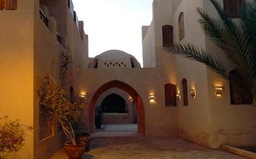 Traditional houses in El Gouna