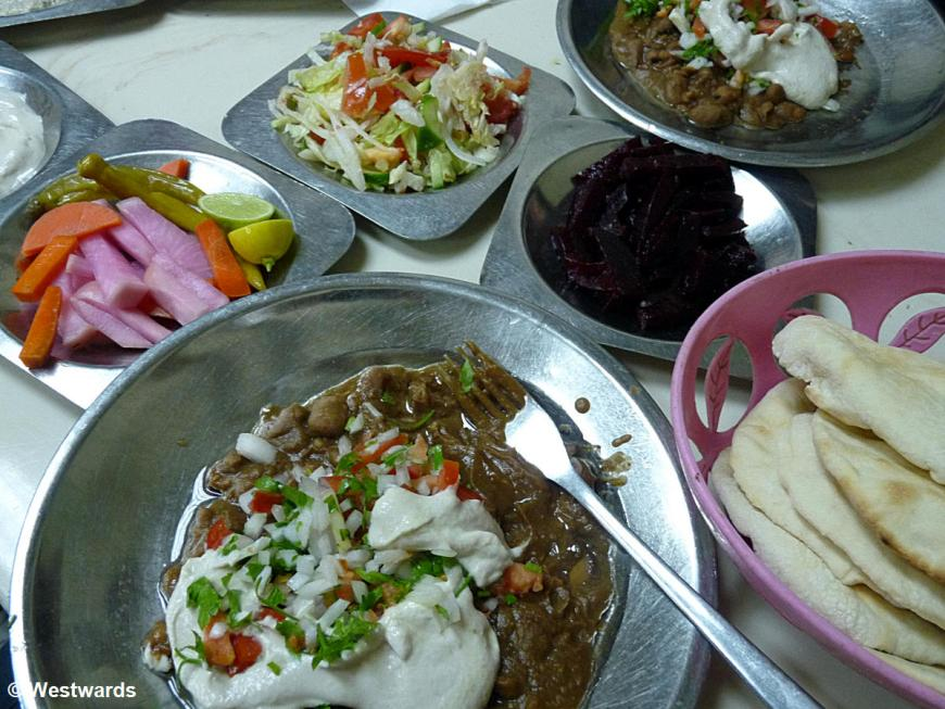 Alexandria Foul at Mohamed Achmed restaurant