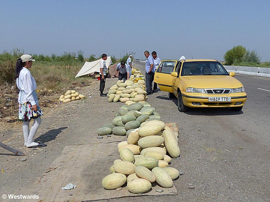 20130817 Taschkent_Samarkand Melonenmarkt P1000095