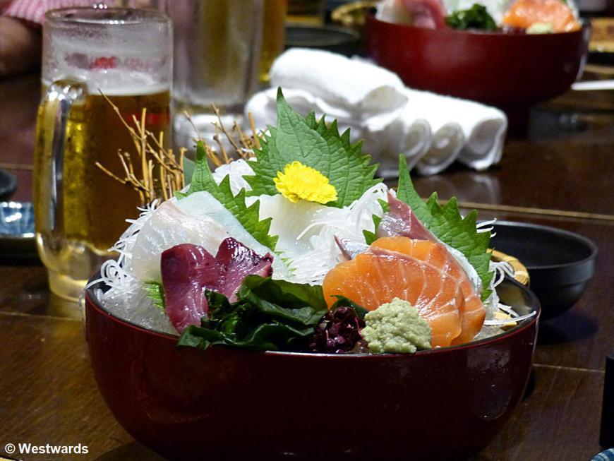 20131014 Tokyo Hananomai Sashimi P1030886