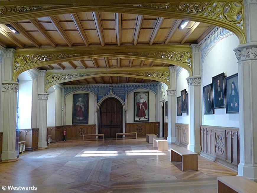20140131 Wittenberg Lutherhaus Grosser Hoersaal P1050145