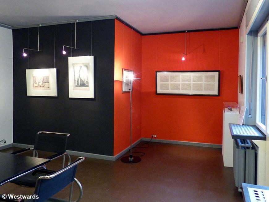 Lionel Feininger's apartment in the Dessau Meisterhaeuser
