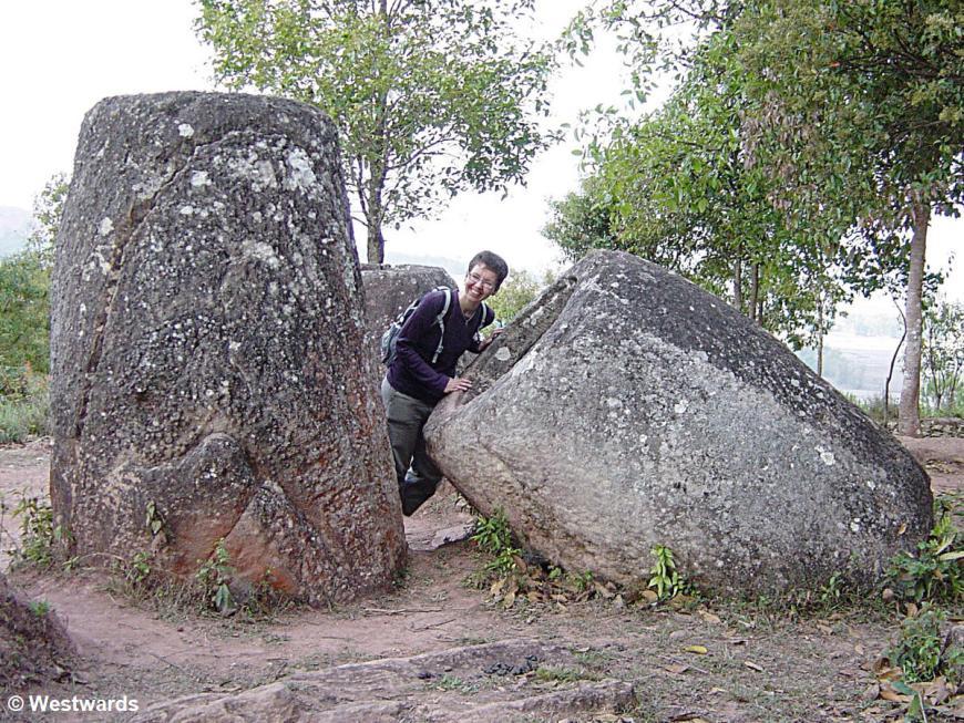 Enigmatic stone jars in the Phonsavan plain