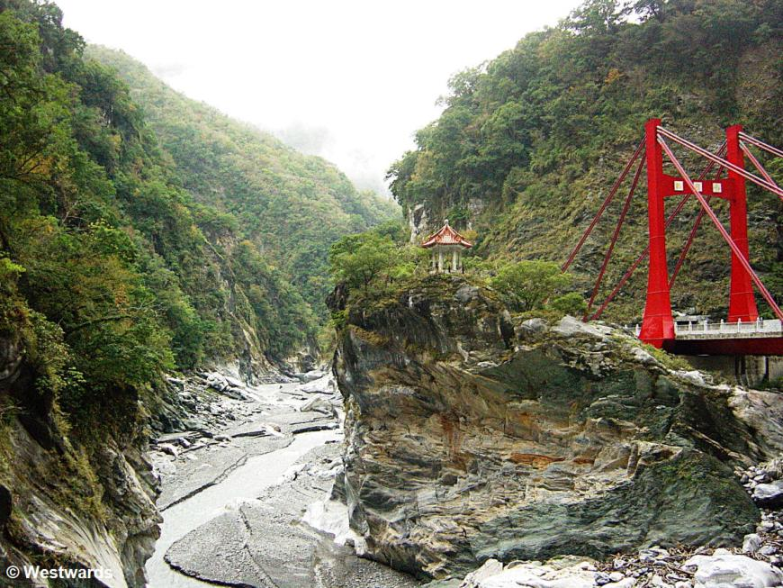 Taiwan's top attraction, the Taroko Gorge
