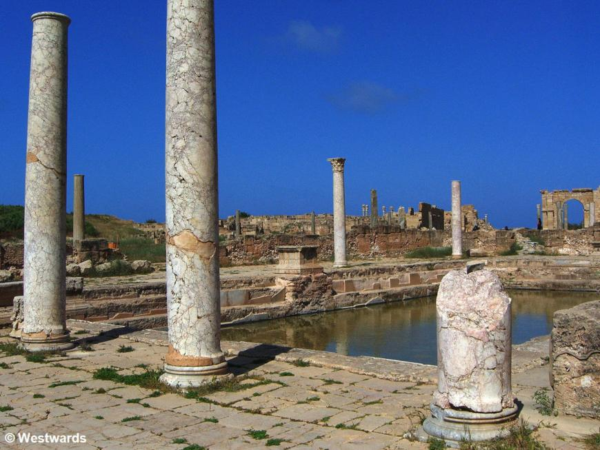 Thermes of Hadrian in Leptis Magna