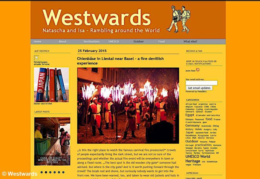 The Westwards blog on Typepad