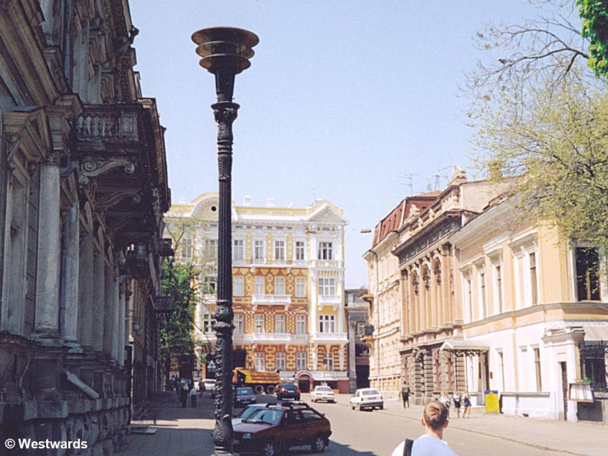 A street in central Odessa