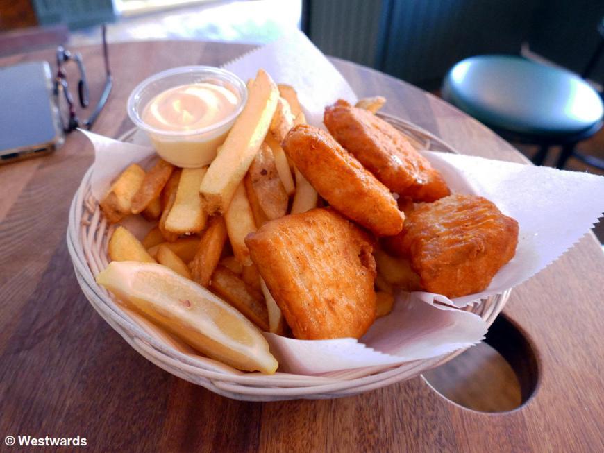 Fish n Chips in Reykjavik