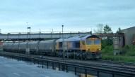 Merry Go Round train prepares to load coal Immingham Docks 2014