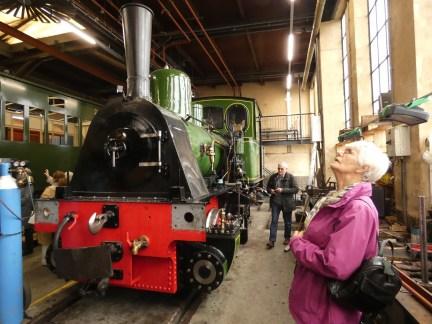 Hoorn Steam Tram repair shops