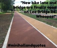 new bike lane