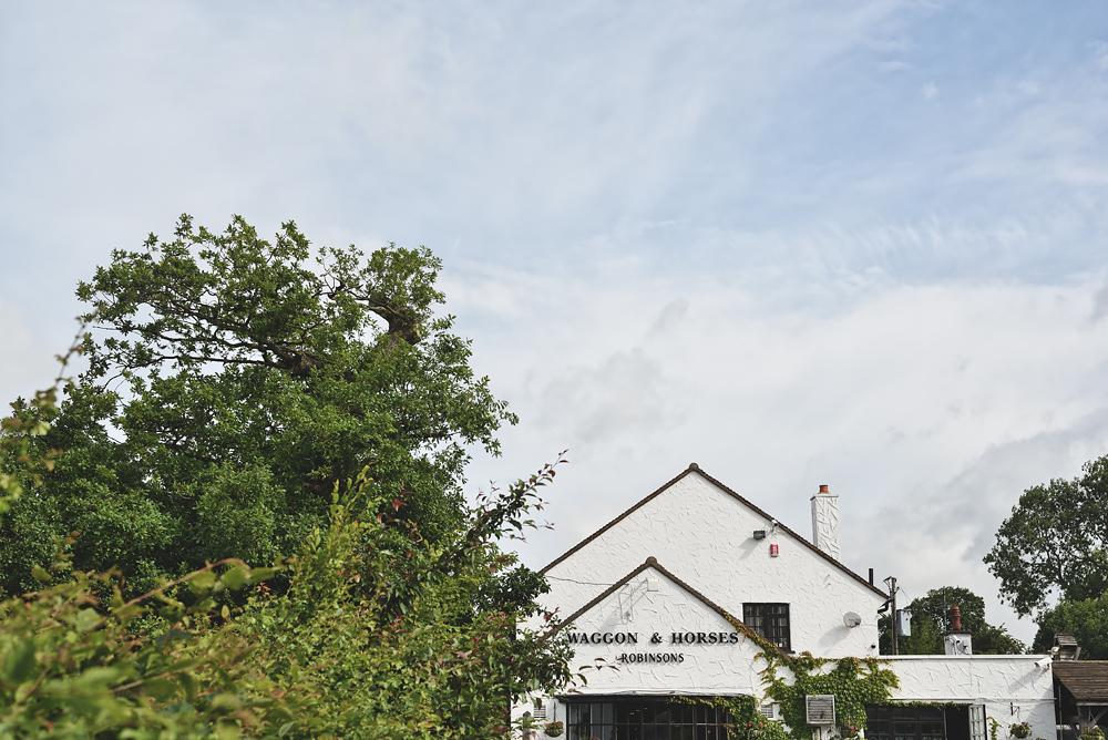 Wagon & Horses Pub - Sandhole Oak Barn Wedding