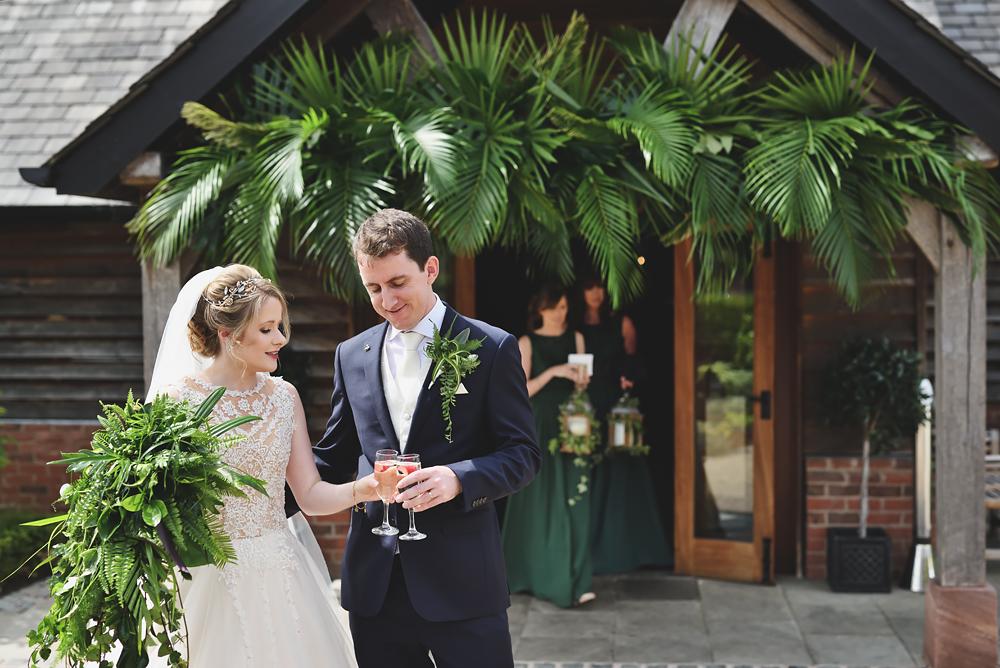 Drinks - Sandhole Oak Barn Wedding