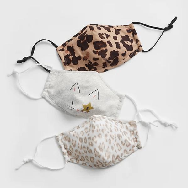 cat cheetah kid masks