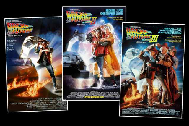 back to the future movie trilogy