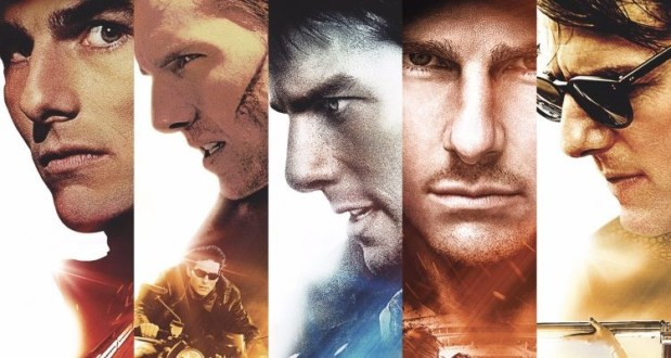 tom cruise looks in mission impossible film series