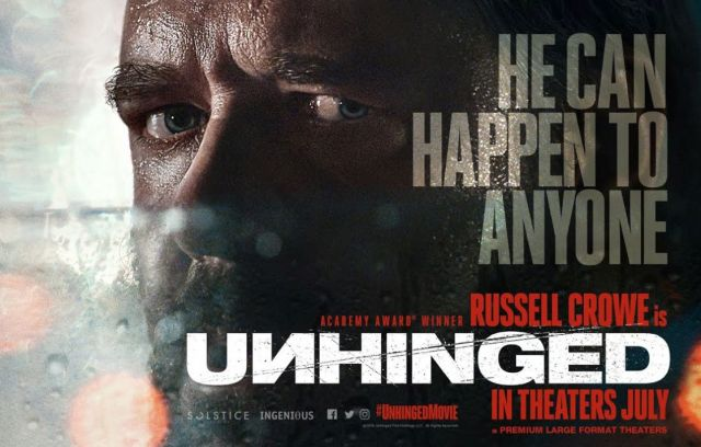 Russell Crowe stars in Unhinged