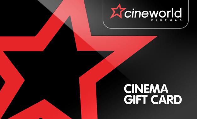 cineworld gift card
