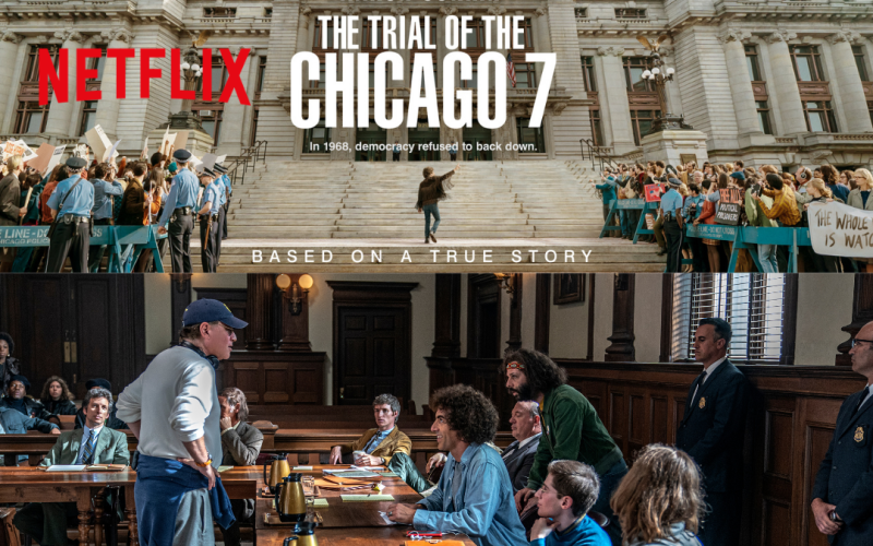 Netflix Review: The Trial of the Chicago 7
