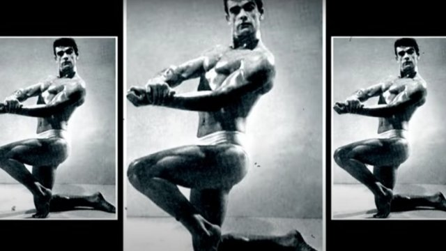 he was a bodybuilder and made ends meet as an art school model 1604163674