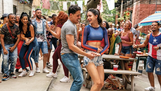Anthony Ramos and Melissa Barrera star in In The Heights