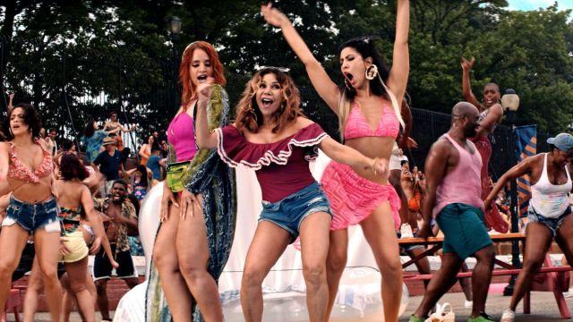 Dasha Polanco, Daphne Rubin-Vega and Stephanie Beatriz, In The Heights