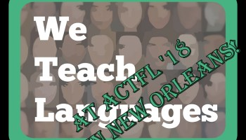 Become a contributor to We Teach Languages! – we teach languages