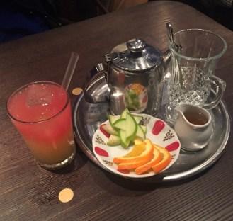 Watermelon Lemonade & Linden Tea