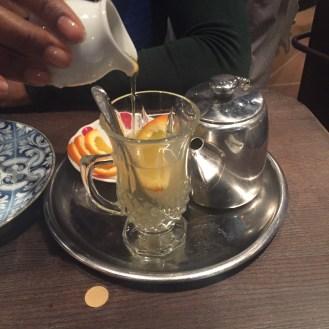 Linden, Ginger & Honey Tea