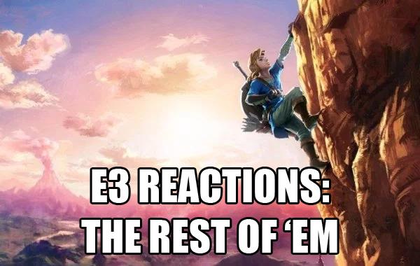 Episode 37 - E3 2016 Nintendo et al Reactions