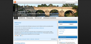 wetherby.biz portal website for local Wetherby businesses