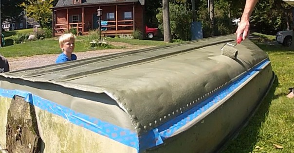 Wetlander roller Application on the Duckboat still 1