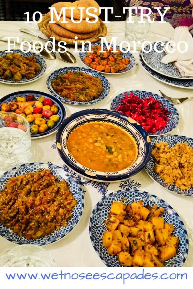 10 MUST-TRY Foods in Morocco
