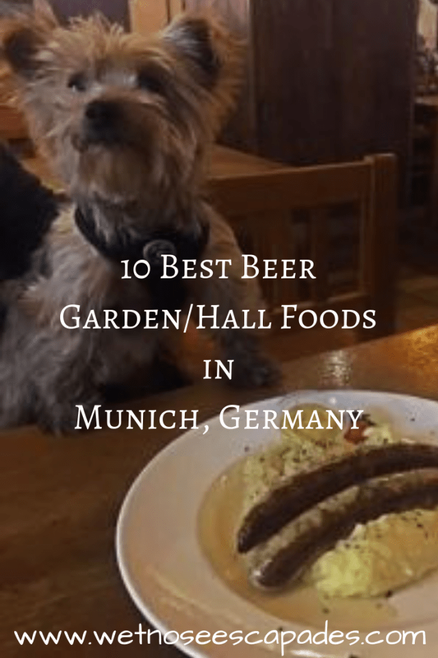 10 Best Beer Garden/Hall Foods in Munich, Germany