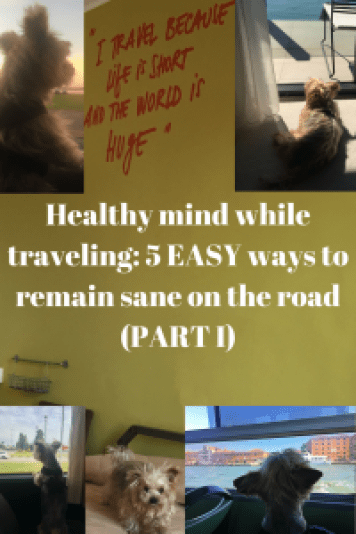 5 EASY ways to remain sane on the road (PART I)